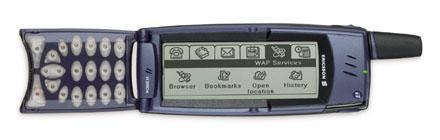 Ericsson R380 smartphone telefono celular