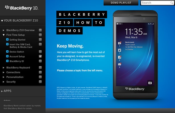 telefono celular blackberry z10