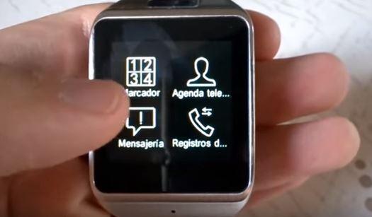 Atongm W007 smartwatch bluetooth pantalla táctil
