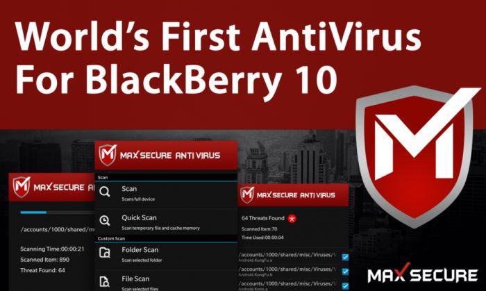 antivirus para telefonos celulares blackverry