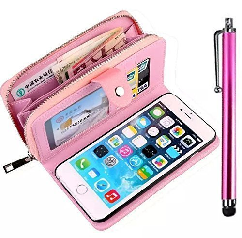 cartera especial para tu smartphone de color rosa