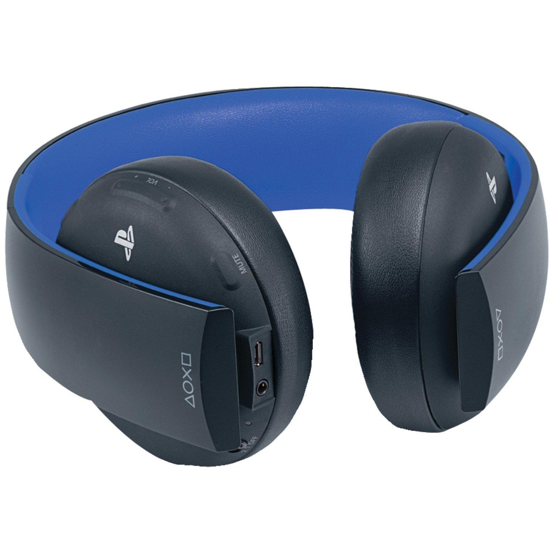 audifonos para paly station ps3 inalambricos azules sonido bueno