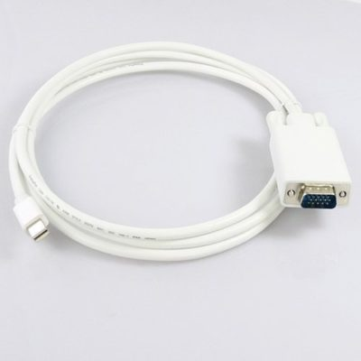 6-Feet-Mini-DisplayPort-Male-to-VGA-Male-Cable-for-MacBook-MacBook-Pro-MacBook-Air-or-devices-utilizing-mini-Displayport-0