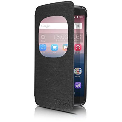 Alcatel-Cell-Phone-Cradle-for-47-ALCATEL-ONETOUCH-IDOL-3-Retail-Packaging-Dark-grey-0