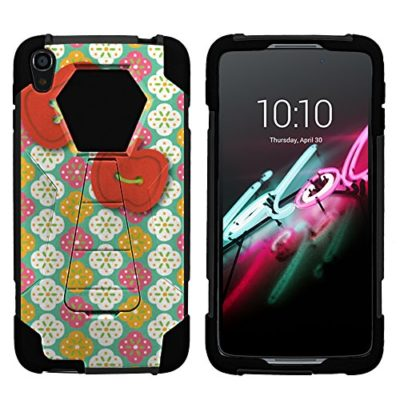 Alcatel-Idol-3-Case-Full-Body-Fusion-SHOCK-Impact-Kickstand-Case-with-Exclusive-Illustrations-for-Alcatel-OneTouch-Idol-3-55-Inches-by-MINITURTLE-0