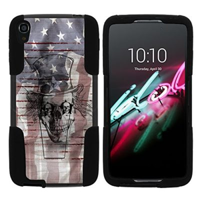Alcatel-One-Touch-Idol-3-55-Case-Hard-Shell-Cover-w-Kickstand-Soft-Idol-3-55-by-MINITURTLE-0