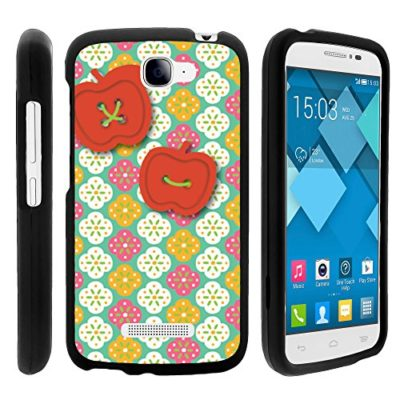 Alcatel-Pop-Icon-Case-Perfect-Fit-Cell-Phone-Case-Hard-Cover-with-Cute-Design-Patterns-for-Alcatel-POP-ICON-A564C-Alcatel-One-Touch-Fierce-2-7040T-T-Mobile-Metro-PCS-Straight-Talk-from-MINITURTLE-Incl-0