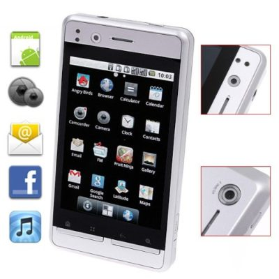 Android-22-WCDMA-3G-Smartphone-35-Capacitive-Touchscreen-WiFi-GPS-Silver-Ouku-Horizon-0