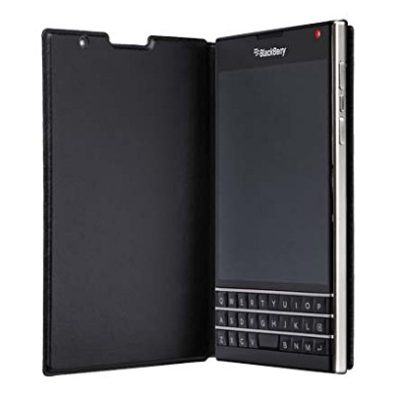 BlackBerry-ACC-59524-001-Leather-Flip-Case-for-BlackBerry-Passport-Retail-Packaging-Black-Not-compatible-with-ATT-Version-0