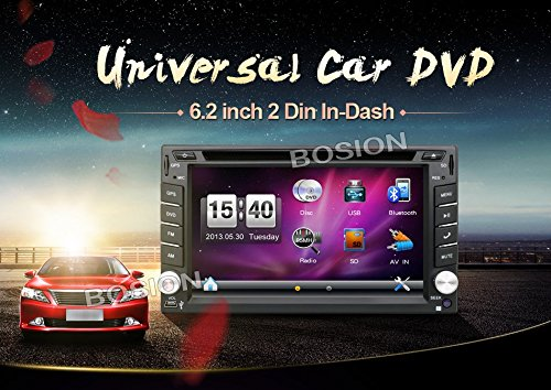 Bosion-hot-selling-product-62-inch-Double-DIN-Car-Gps-Navigation-in-Dash-Car-Dvd-Player-Car-Stereo-Touch-Screen-with-Bluetooth-USB-Sd-Mp3-Radio-for-Universal-Car-Free-Backup-Camera-and-map-card-0