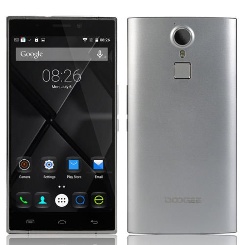 Doogee-F5-55-4g-Smartphone-IPS-Capacitive-1920x1080-Android-51-Octa-core-Mtk6753-130ghz-3gb-RAM-16gb-ROM-160mp-Silver-0