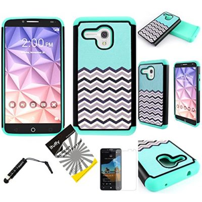For-Alcatel-OneTouch-Fierce-XL-5054-ITUFFY-TM-3items-Combo-Screen-Protector-Stylus-Pen-Dual-Layer-Shock-Proof-Hybrid-Armor-Case-0