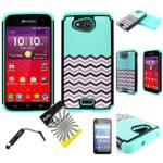 For-Kyocera-Hydro-Wave-C6740-Hydro-Air-ITUFFY-TM-3items-Combo-Screen-Protector-Stylus-Pen-Dual-Layer-Impact-Resistance-Hybrid-Armor-Case-0