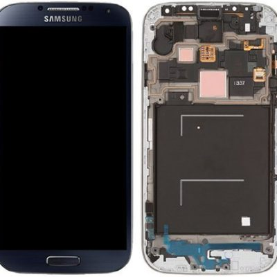 Generic-New-OEM-Samsung-Galaxy-S4-Black-LCD-Assembly-With-Frame-For-GSM-Models-T-Mobile-M919-ATT-I337-0