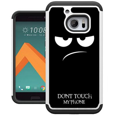 HTC-10-Case-UrSpeedtekLive-Drop-Protection-Dual-Layer-Protector-Hybrid-Defender-Hard-Back-Cover-Case-for-HTC-10-0