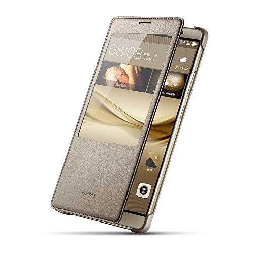 Huawei-Ascend-Mate-8-Case-Premium-Leather-Cover-with-View-Window-S-View-Protective-Smartphone-Flip-Cover-Folio-Case-Ultra-Thin-SlimPerfect-Fit-0