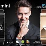 Indigi-1-Gift-Idea-Unisex-Bluetooth-Smart-Watch-Phone-Stylish-Leather-Band-OLED-Touch-Display-Black-0-0