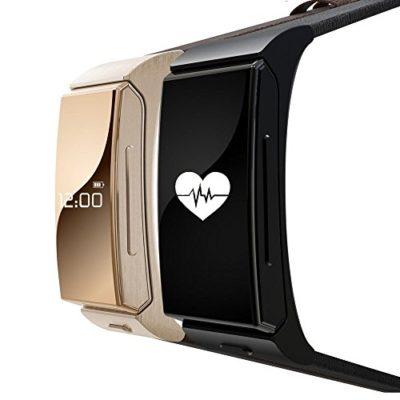 Indigi-1-Gift-Idea-Unisex-Bluetooth-Smart-Watch-Phone-Stylish-Leather-Band-OLED-Touch-Display-Black-0