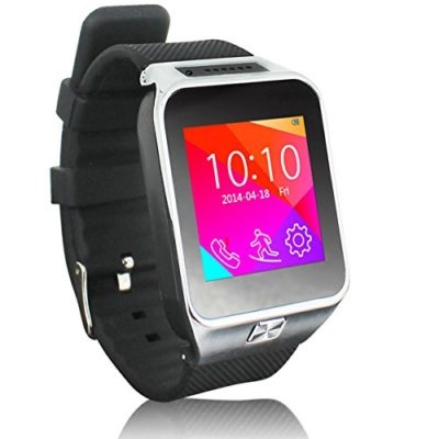 Indigi-2-in-1-GSM-Bluetooth-Smart-Watch-Phone-w-Built-in-Camera-Pedometer-Sleep-Monitor-Radio-GSM-Unlocked-Silver-0
