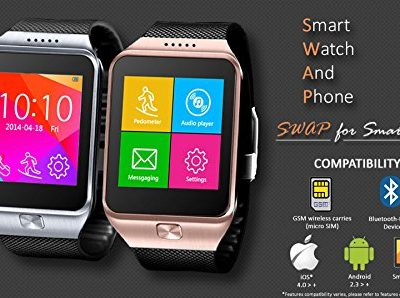 Indigi-Universal-Smart-Watch-Phone-Bluetooth-iPhone-Android-GSM-Unlocked-ATT-T-mobile-Straight-Talk-Silver-0-0