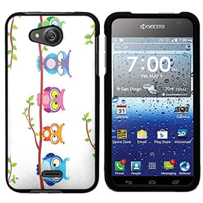 Kyocera-Hydro-Air-case-Black-PaletteShieldTM-Flexible-TPU-gel-skin-cell-phone-cover-soft-slim-guard-protective-shell-for-Kyocera-Hydro-Air-Wave-C6740-designs-2-0