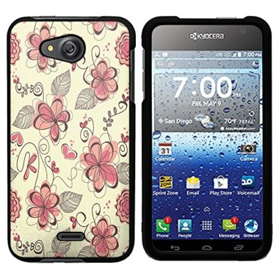 Kyocera-Hydro-Air-case-Black-PaletteShieldTM-Flexible-TPU-gel-skin-cell-phone-cover-soft-slim-guard-protective-shell-for-Kyocera-Hydro-Air-Wave-C6740-designs-4-0