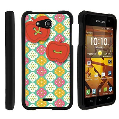Kyocera-Hydro-Wave-Case-Perfect-Fit-Cell-Phone-Case-Hard-Cover-with-Cute-Design-Patterns-for-Kyocera-Hydro-Wave-C6740-T-Mobile-Metro-PCS-from-MINITURTLE-Includes-Clear-Screen-Protector-and-Stylus-Pen-0