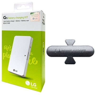 LG-Extra-Spare-Standard-Battery-Charging-Dock-Cradle-Charger-Kit-BCK-5100-For-LG-G5-with-Prime-Gadget-Universal-Stand-Holder-Sticker-0