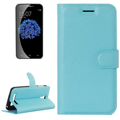 Litchi-Texture-Horizontal-Flip-Leather-Case-with-Holder-Card-Slots-wallet-for-Doogee-Valencia-2-Y100-PRO-Blue-0