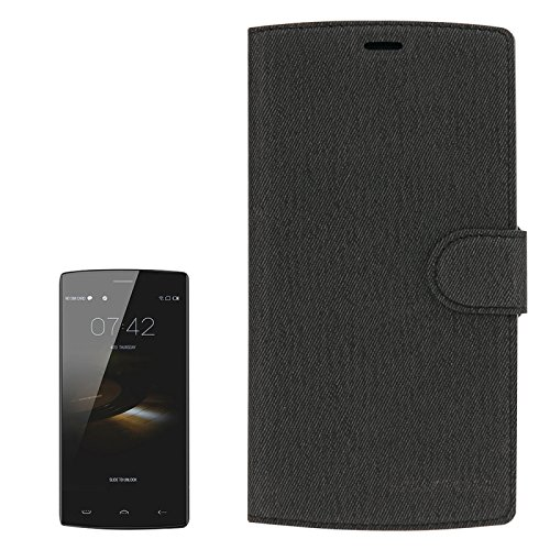 LongerLink-DOOGEE-HOMTOM-HT7-HT7-Pro-Case-and-Screen-Protector-2-in-1-Cloth-Texture-Horizontal-Flip-Leather-Case-with-Holder-Magnetic-Buckle-Tempered-Glass-Screen-Film-for-HOMTOM-HT7-HT7-Pro-0
