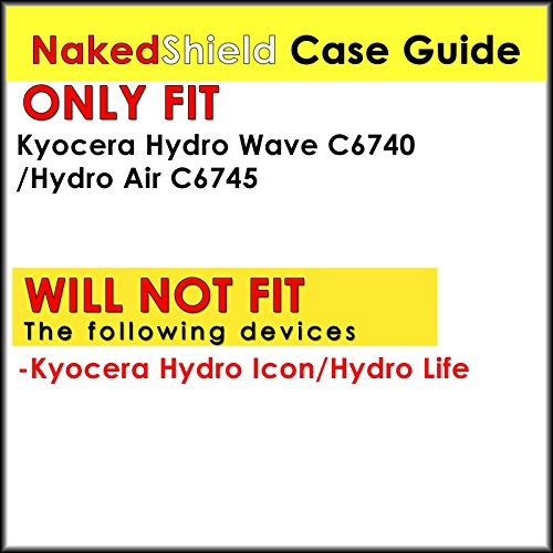 NakedShield-Black-Total-Armor-Protection-Case-D-for-Kyocera-Hydro-Wave-C6740-0