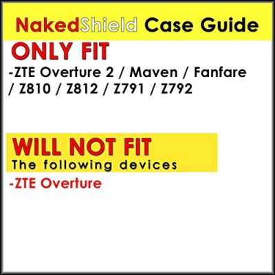 NakedShield-BlackBlack-Heavy-Duty-Holster-Armor-Tough-Case-F-for-ZTE-Overture-2-Z812-Maven-Fanfare-0