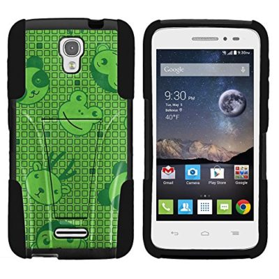 One-Touch-Pop-Astro-Armor-Cover-STRIKE-Impact-Built-In-Kickstand-Case-with-Customized-Designs-for-Alcatel-One-Touch-POP-Astro-5042T-T-Mobile-from-MINITURTLE-Includes-Clear-Screen-Protector-and-Stylus--0