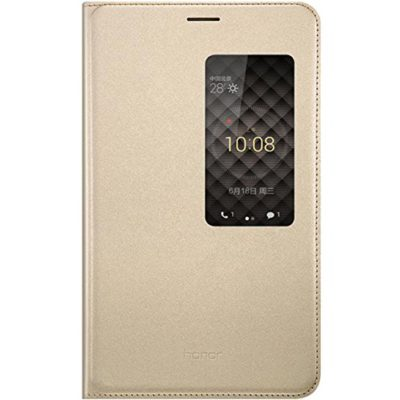 Original-Huawei-X2-MediaPad-Case-Stand-Feature-Premium-Leather-Case-with-Opened-View-Window-Protective-Smartphone-Flip-Cover-Folio-Case-Ultra-Thin-Slim-Perfect-Fit-Gold-0