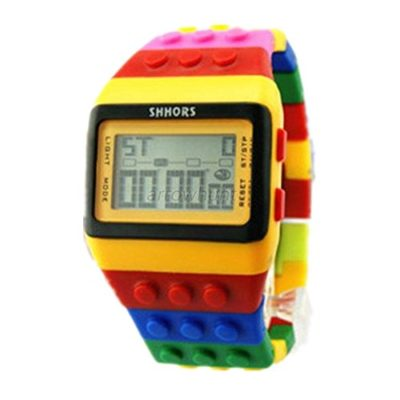 Ouku-1-Year-Warranty-High-Quality-Unisex-Colorful-Block-Brick-Style-Digital-Wrist-Watch-Fashionable-Watches-Alarm-Calendar-0