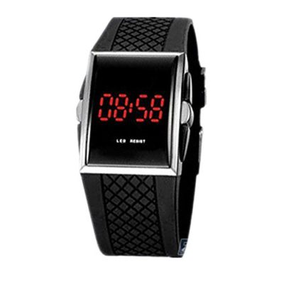 Ouku-Free-Shipping-Unisex-Red-LED-Digital-Rectangle-Dial-Black-Silicone-Band-Wrist-Watch-Mens-Womens-Fashionable-Watches-Casual-Watches-0