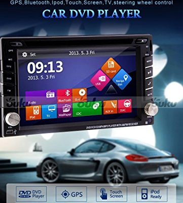 Ouku-In-Dash-Double-DIN-Car-Dvd-Player-with-Touch-Screen-Lcd-Monitor-62-InchFree-Map-Rear-Camera-0-0