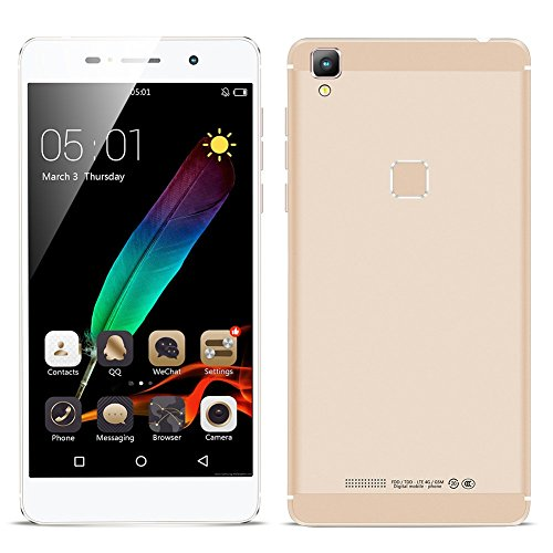 Padgene-5-inch-Android-51-Smartphone-MTK6735-Quad-Core-10GHz-ROM-16GBRAM-2GB-4G-Unlocked-Cell-Phone-0