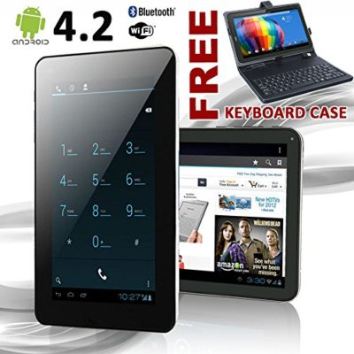 Phablet-7-Android-40-GSM-Tablet-Phone-GSM-Unlocked-Keyboard-Case-Bundled-0