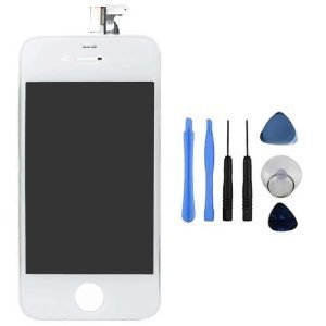 Replacement-Digitizer-and-Touch-Screen-LCD-Assembly-for-White-Apple-iPhone-4S-for-ATTVerizonSprint-iPhone-4S-7-Piece-Tools-Included-0