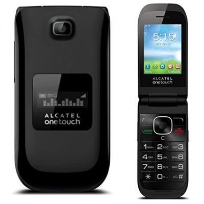 UNLOCKED-Alcatel-OneTouch-A392A-Quad-Band-Flip-Cell-Phone-Camera-Bluetooth-0