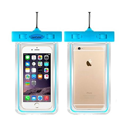 Universal-Waterproof-Pouch-CaseJanCalm-Luminous-Feature-IPX8-Certified-Protective-Smartphone-Credit-Card-Waterproof-Bag-Life-Case-for-iPhone-6-Plus65s55C4Sfor-Galaxy-S6S5S4-Etc-0