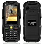 VKword-stone-V3-24-TFT-Screen-Dual-Sim-Card-Unlocked-Cellphone-with-IP67-Waterproof-Dustproof-and-Shockproof-Rugged-Mobile-Phone-Support-64MB-Big-Memory-and-5200mAh-Long-Standby-GSM-Flashlight-for-Out-0-2
