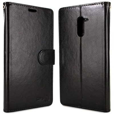 ZTE-Grand-X-Max-2-Wallet-Case-ZTE-Max-Duo-LTE-Case-CoverON-CarryAll-Series-Synthetic-Leather-Flip-Folio-Card-Holder-Slim-Phone-Cover-Case-for-ZTE-Grand-X-Max-2-Max-Duo-LTE-0