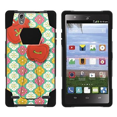 ZTE-Lever-Case-Full-Body-Fusion-SHOCK-Impact-Kickstand-Case-with-Exclusive-Illustrations-for-ZTE-Lever-Z936L-Z936C-LTE-by-MINITURTLE-0
