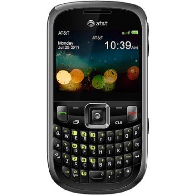 ZTE-Z431-Unlocked-GSM-Phone-with-24-Display-2MP-Camera-QWERTY-Keyboard-GPS-SNS-Integration-Muisic-Player-and-microSD-Slot-Black-0