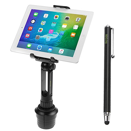 iKross-2-in-1-Cellphone-Tablet-Adjustable-Swing-Long-Arm-Cup-Mount-Holder-Car-Kit-Stylus-for-Amazon-Kindle-Fire-HD-Fire-7-inch-Fire-HD-10-101-Fire-HD-6-Fire-HD-8-Fire-HDX-89-and-more-Tablet-0