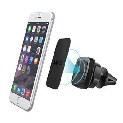 Anker-Air-Vent-Magnetic-Car-Mount-Phone-Holder-for-iPhone-6s6Se6-Plus-Samsung-Galaxy-LG-G5-Nexus-Moto-HTC-Sony-Nokia-and-Other-Smartphones-Black-0