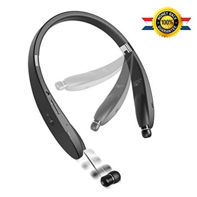 Bluetooth-Headset-New-Release-Bluetooth-Headphone-Wireless-Neckband-Design-with-Retractable-Earbud-for-iPhone-Android-Other-Bluetooth-Enabled-Devices-0