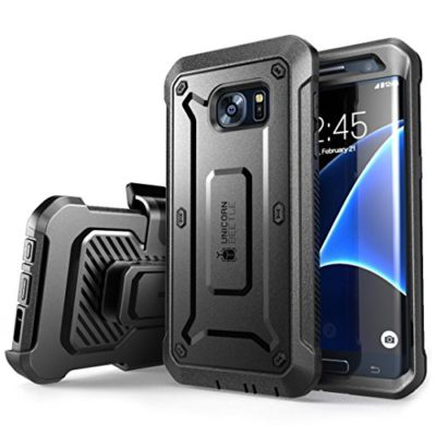 Galaxy-S7-Edge-Case-SUPCASE-Full-body-Rugged-Holster-Case-with-Built-in-Screen-Protector-for-Samsung-Galaxy-S7-Edge-2016-Release-Unicorn-Beetle-PRO-Series-Retail-Package-BlackBlack-0